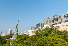 Tokyo Statue of Liberty in Daiba.  Royalty Free Stock Image