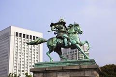 Tokyo: Statue von kusunoki masashige Lizenzfreies Stockfoto