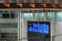 Tokyo Stock Exchange in Japan. Trading floor of the Tokyo Stock Exchange in Tokyo, Japan. Tokyo Stock Exchange Inc., operator of Japan's largest equity market