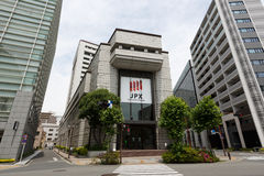 Tokyo Stock Exchange in Japan Stock Images
