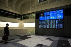 Tokyo Stock Exchange Royalty Free Stock Images