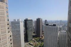 Tokyo storstads- regering på Shinjuku 2016 royaltyfria bilder