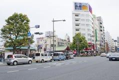 Tokyo-Straße lizenzfreies stockfoto