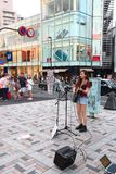 Tokyo :Street performer Stock Images