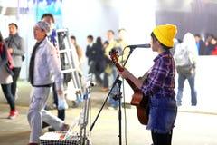Tokyo :Street performer Royalty Free Stock Photo