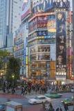 Tokyo streetscene Royalty Free Stock Photos