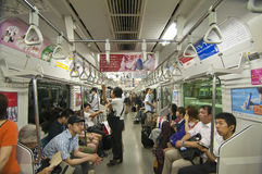 Tokyo subway Stock Images