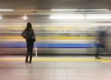 Tokyo subway Stock Photos