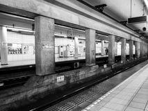 Tokyo subway station Royalty Free Stock Photos