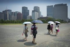 Tokyo summer Royalty Free Stock Image