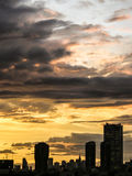 Tokyo sunset Royalty Free Stock Images