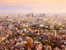 Tokyo sunset Stock Images