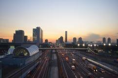 Tokyo superhighway scene Stock Images