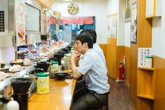 Tokyo sushi shop Stock Image