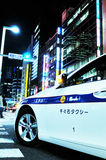 Tokyo taxi Stock Photography
