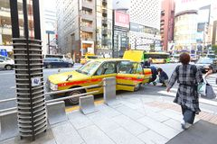 Tokyo: Taxi Royalty Free Stock Image