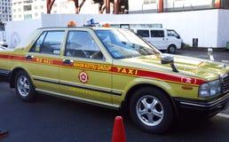 Tokyo taxi Japan. Taxi waiting near Tokyo station, Japan Royalty Free Stock Photography