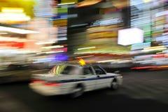 Tokyo Taxi Pan Stock Photography