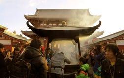 Tokyo tempel Fotografering för Bildbyråer