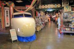 Tokyo theme park Japan. People visit Daiba 1 chome shotengai at Decks Odaiba Tokyo Royalty Free Stock Image