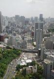 tokyo tornsikt royaltyfri fotografi