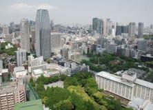 tokyo tornsikt royaltyfria bilder