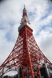 Tokyo tower. Tokyo Red tower in Japan stock photos