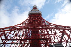 Tokyo tower. Tokyo Red tower in Japan royalty free stock photography