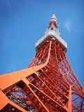 Tokyo tower. The famous Tokyo Tower in Japan Stock Photography