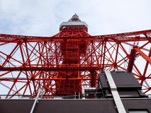 Tokyo tower and building. Architecture-Tokyo tower and building Royalty Free Stock Photography