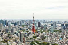 Tokyo Tower and City Skyline, Japan Royalty Free Stock Photography