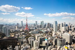 Tokyo Tower cityscape Japan Royalty Free Stock Image