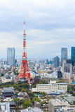 Tokyo Tower cityscape Japan. Royalty Free Stock Photo