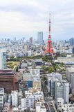 Tokyo Tower cityscape Japan. Stock Images