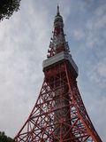 Tokyo Tower after earthquake Stock Images