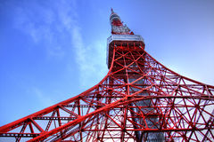 Tokyo tower on HDR Stock Photos