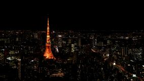 Tokyo Tower. In Tokyo, Japan Royalty Free Stock Images