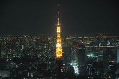 Tokyo Tower Japan Royalty Free Stock Photo
