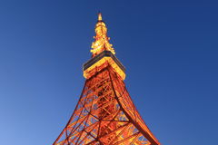 Tokyo Tower Japan Stock Image
