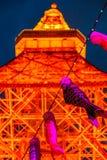 Tokyo Tower Koinobori Royalty Free Stock Photos