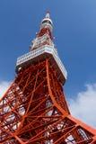 Tokyo tower, The landmark of Japan in blue sky Royalty Free Stock Photos