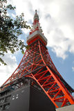 Tokyo Tower. A Tokyo landmark similar to Eiffel Tower Royalty Free Stock Photography