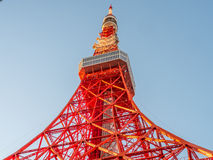 Tokyo tower is landmark of Tokyo Royalty Free Stock Images