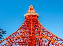 Tokyo tower is landmark of Tokyo Royalty Free Stock Photo