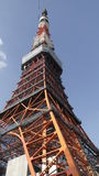 Tokyo Tower. Looking from below Royalty Free Stock Photography