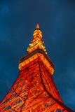 Tokyo Tower Minato District Royalty Free Stock Photography