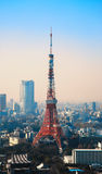 Tokyo Tower in Minato Ward Royalty Free Stock Images