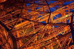 Tokyo tower at nigh in Tokyo,Japan Stock Photo