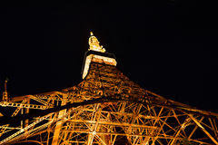 Tokyo Tower in night. & x28;closeup shooting& x29 Royalty Free Stock Images