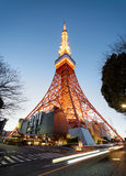 Tokyo Tower at night. Stock Images